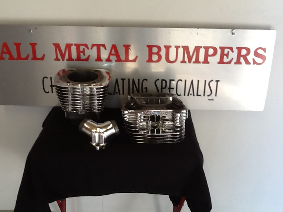 All Metal Bumpers — Specialising in Copper Based Chrome Parts